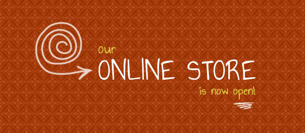 On-line Store Now Open