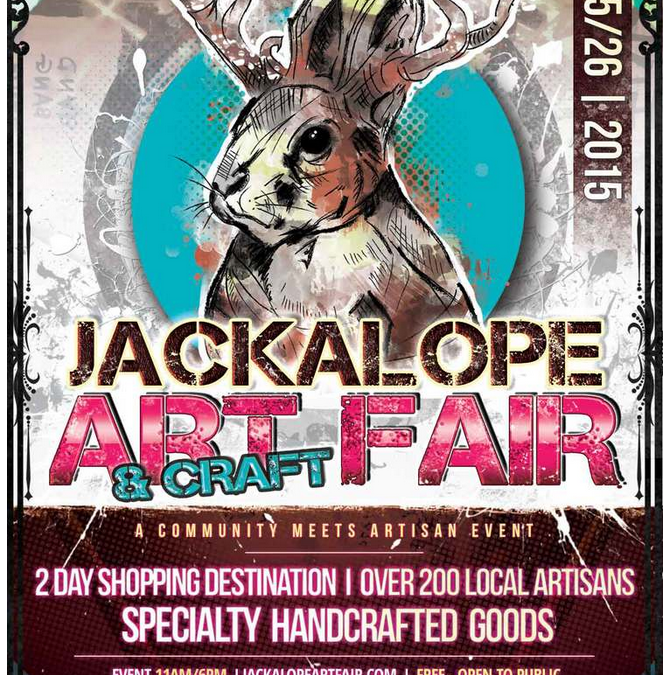 See Art at Jackaloupeartfair April 25 & 26